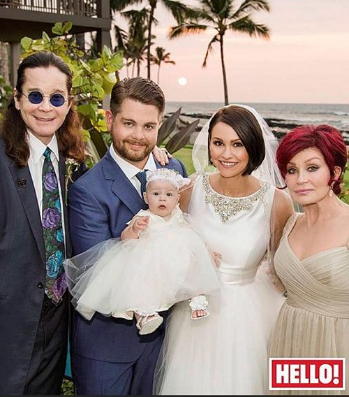 Jack Osbourne's Wedding Photo!