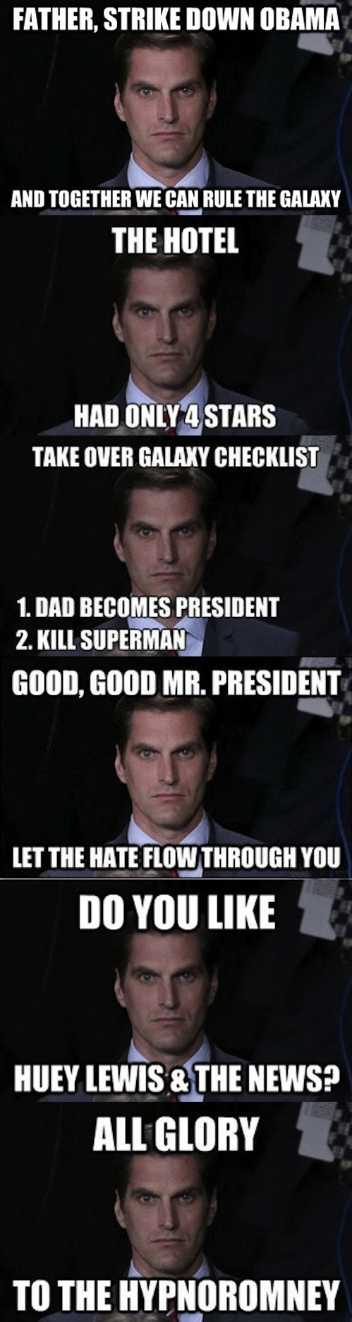 More Menacing Josh Romney