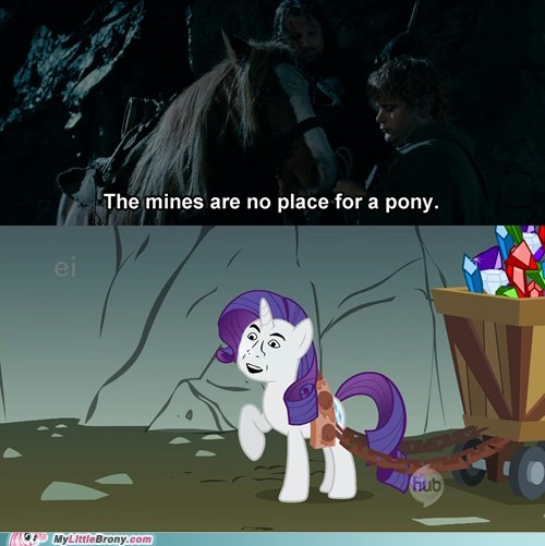 Ponies Don't Go to Moria