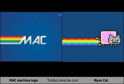 MAC Machine Logo Totally Looks Like Nyan Cat