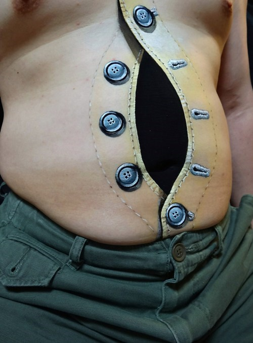 Crazy-Real Body Art of the Day