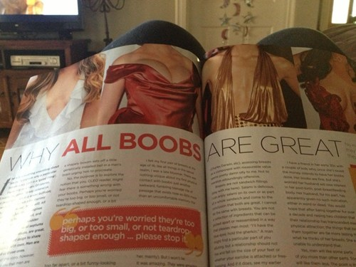 breasts,magazines,articles