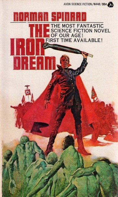 wtf,book covers,nazis,cardboard,books,cover art,science fiction