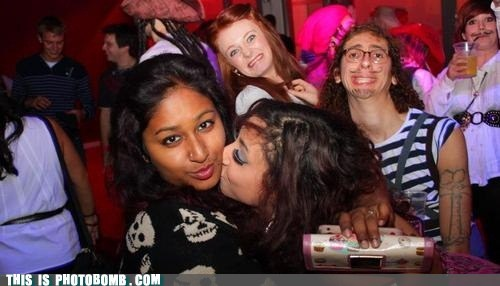 Dat Super Successful Photobomb