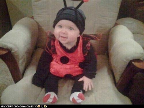 This is my Grandbaby, Mady, last Halloween. She IS the spitting (drooling) image of me at that age!