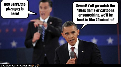 cartoons,pizza,Mitt Romney,agree,barack obama,football,break