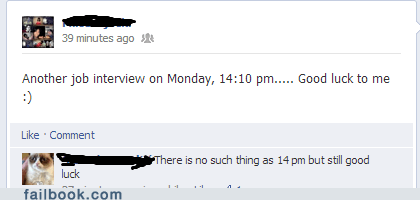 Good Thing It's an Interview With an English Teacher