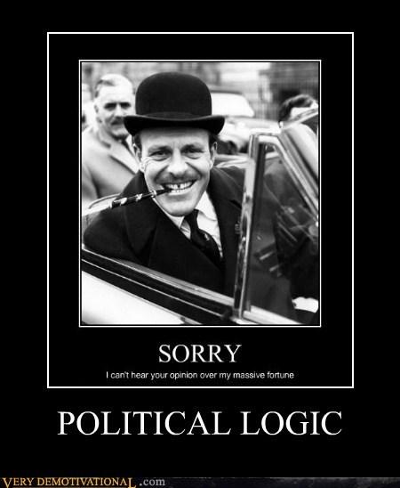 logic,politics,rich,poor