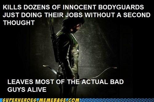 Scumbag Green Arrow