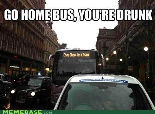Go home, bus