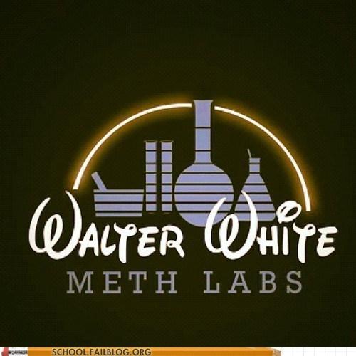 breaking bad,disney,meth labs,walter white