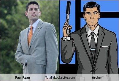 Paul Ryan Totally Looks Like Archer