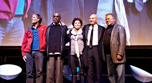 Star Trek Captains Reunion of the Day