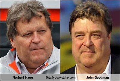 Norbert Haug Totally Looks Like John Goodman