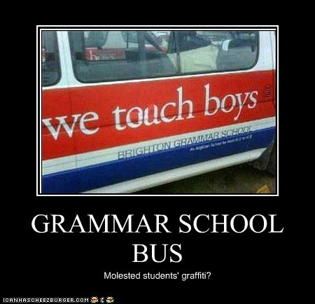 GRAMMAR SCHOOL BUS