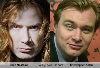Dave Mustaine Totally Looks Like Christopher Nolan