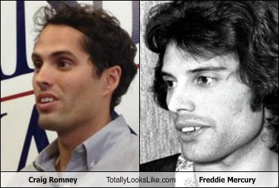 Craig Romney Totally Looks Like Freddie Mercury