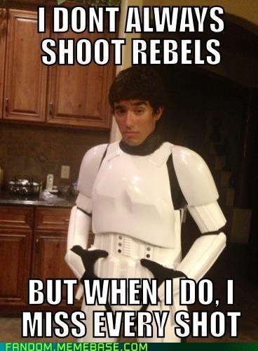 The Most Interesting Stormtrooper in the World