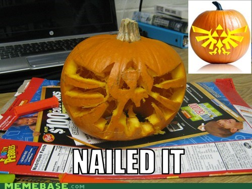 triforce,zelda,pumpkin carving,halloween