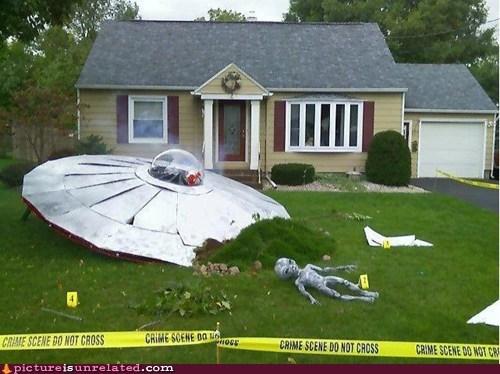 home owner,insurance,Aliens,crash landing,ufo