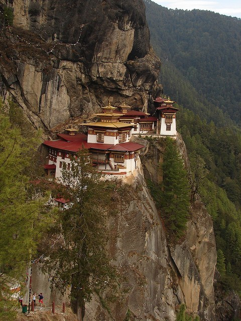 Tiger's Nest Monastery in Paro Valley, Bhutan