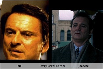 bill Totally Looks Like joepesci