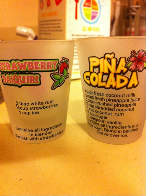 Helpful Shot Glasses