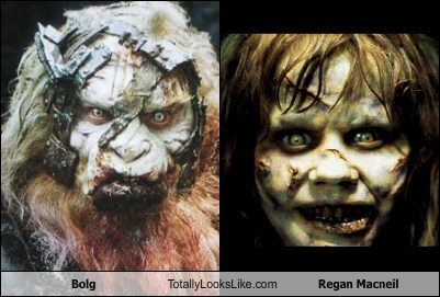 Bolg Totally Looks Like Linda Blair (Regan Macneil)