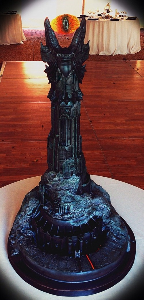 Eye of Sauron Cake WIN
