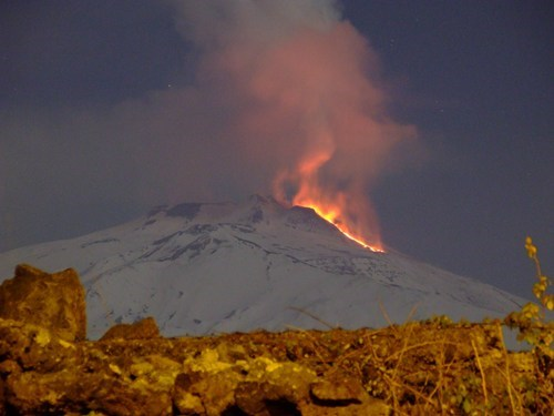 Heating Up at Mt. Etna