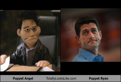 Puppet Angel Totally Looks Like Paul Ryan