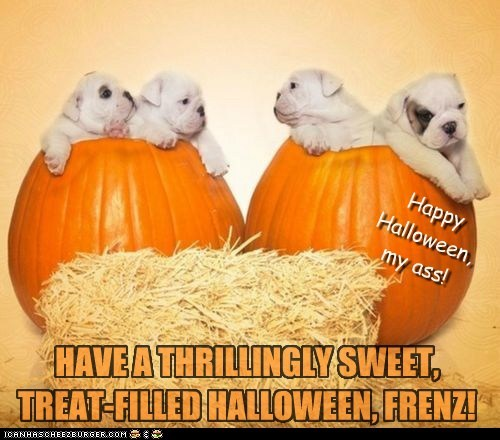 NO TRICKS FOR CHEEZ PEEPS! *HAPPY HALLOWEEN*