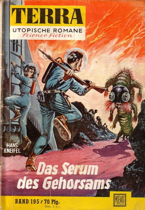WTF Sci-Fi Book covers: Das Serum des Gehorsams