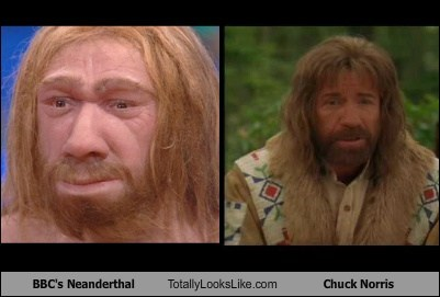 BBC's Neanderthal Totally Looks Like Chuck Norris