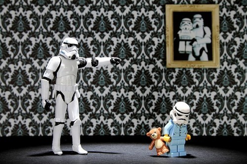 The Secret Family Life Of Stormtroopers of the Day