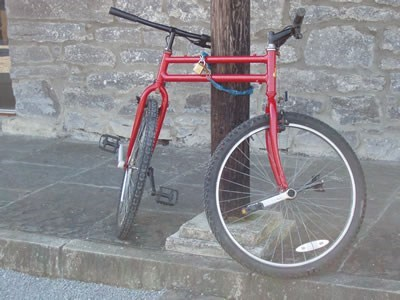Tandem Bike: You're Doin' It Wrong