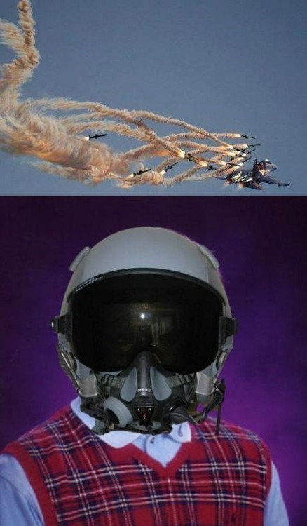 bad luck brian,pilot,missiles
