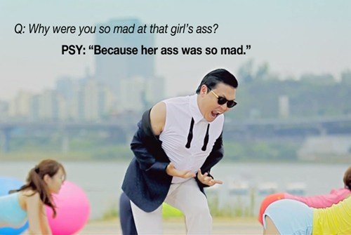 The Best Of PSY's Reddit AMA of the Day