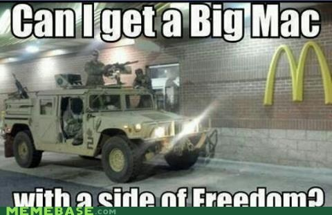 Big Mac with Democracy?