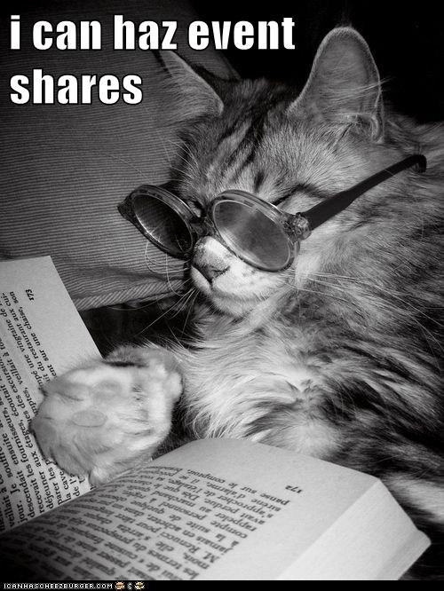 i can haz event shares