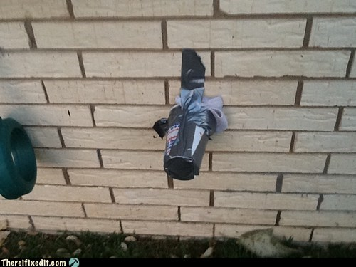 Winterizing With Duct Tape