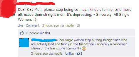 """Straight"" Into the Friendzone"
