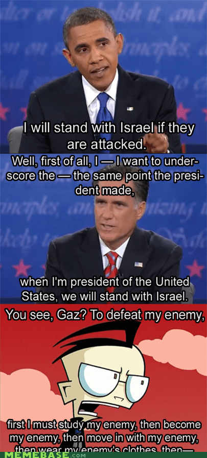 To defeat my enemy...