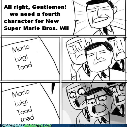 Ideas Must Be Hard to Think of at Nintendo