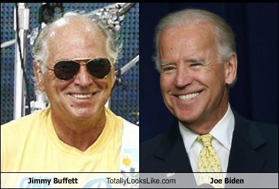 Jimmy Buffett Totally Looks Like Joe Biden