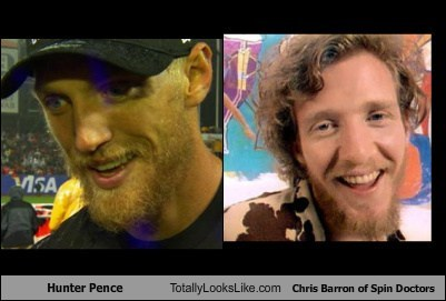 Hunter Pence Totally Looks Like Chris Barron of Spin Doctors
