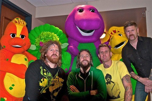 Mastodon With Barney and Friends!