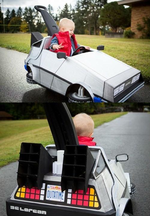 Kid-Size DeLorean of the Day