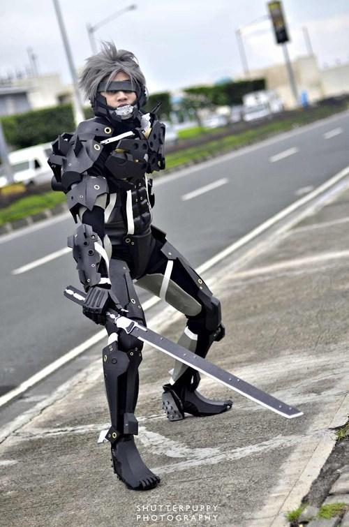 raiden,cosplay,metal gear rising