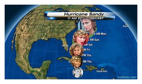 Bracing For Sandy of the Day